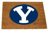 BYU Cougars Colored Logo Door Mat