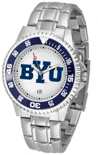 BYU Cougars Competitor Steel Men's Watch
