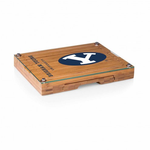 BYU Cougars Concerto Bamboo Cutting Board