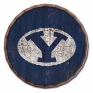 "BYU Cougars Cracked Color 24"" Barrel Top"