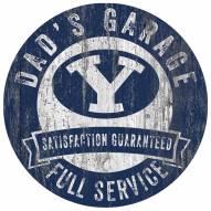 BYU Cougars Dad's Garage Sign