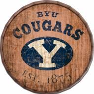 """BYU Cougars Established Date 16"""" Barrel Top"""