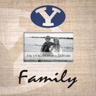 BYU Cougars Family Picture Frame