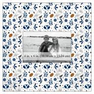"""BYU Cougars Floral Pattern 10"""" x 10"""" Picture Frame"""
