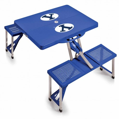 BYU Cougars Folding Picnic Table