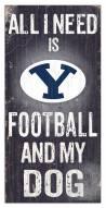 BYU Cougars Football & My Dog Sign