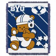BYU Cougars Fullback Baby Blanket