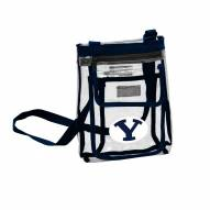 BYU Cougars Gameday Clear Crossbody Tote