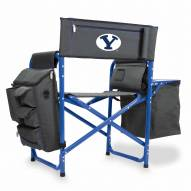 BYU Cougars Gray/Blue Fusion Folding Chair