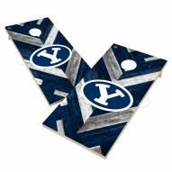BYU Cougars Herringbone Cornhole Game Set