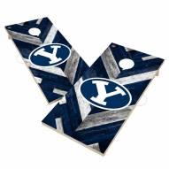 BYU Cougars Herringbone Cornhole Game Set