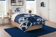 BYU Cougars Hexagon Twin Comforter & Sham Set