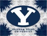 BYU Cougars Logo Canvas Print