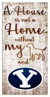 BYU Cougars House is Not a Home Sign