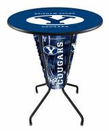 BYU Cougars Indoor/Outdoor Lighted Pub Table