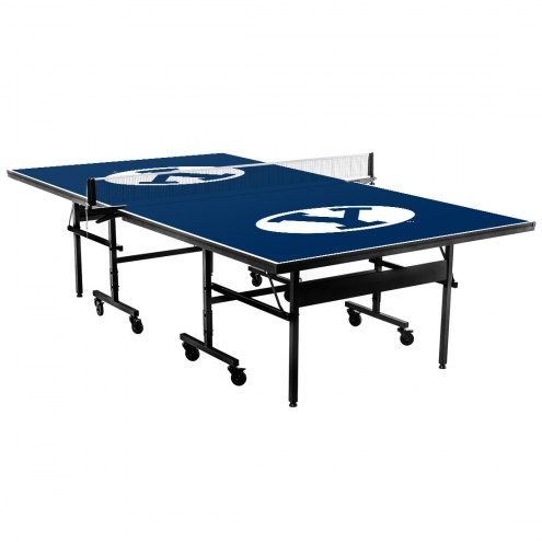 BYU Cougars Indoor Ping Pong Table