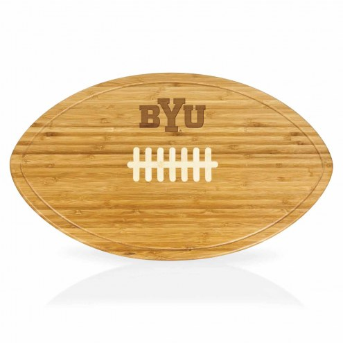 BYU Cougars Kickoff Cutting Board