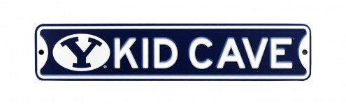 BYU Cougars Kid Cave Street Sign