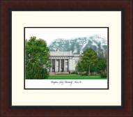 BYU Cougars Legacy Alumnus Framed Lithograph