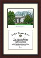 BYU Cougars Legacy Scholar Diploma Frame