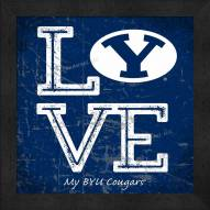 BYU Cougars Love My Team Color Wall Decor