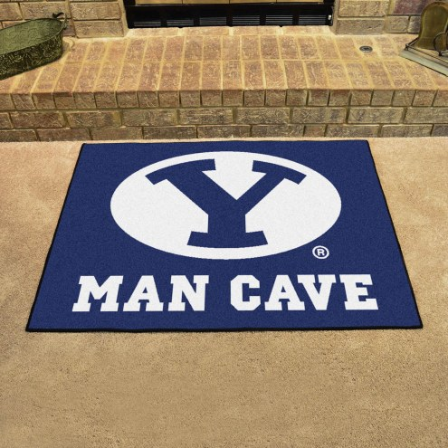 BYU Cougars Man Cave All-Star Rug
