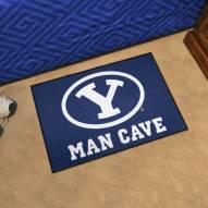 BYU Cougars Man Cave Starter Mat