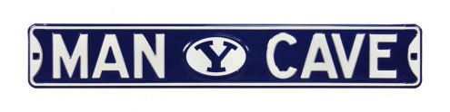 BYU Cougars Man Cave Street Sign