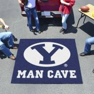 BYU Cougars Man Cave Tailgate Mat