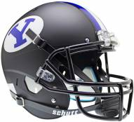 BYU Cougars Matte Black Schutt XP Collectible Full Size Football Helmet