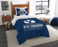 BYU Cougars Modern Take Twin Comforter Set