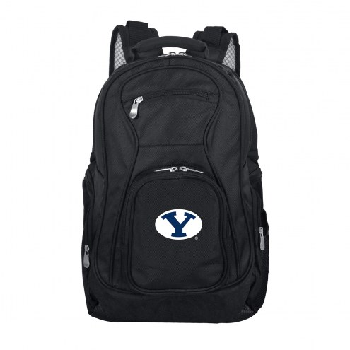 BYU Cougars Laptop Travel Backpack