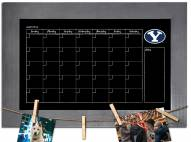 BYU Cougars Monthly Chalkboard with Frame