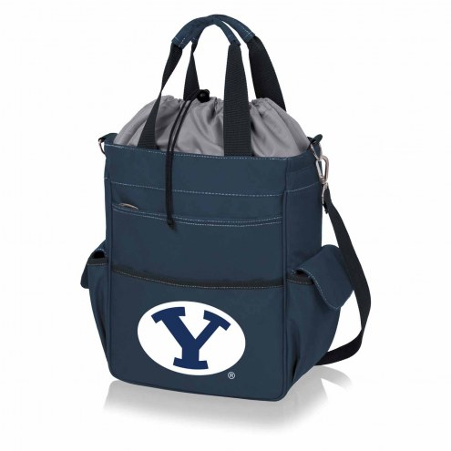 BYU Cougars Navy Activo Cooler Tote