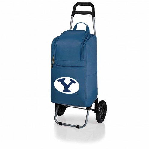 BYU Cougars Navy Cart Cooler
