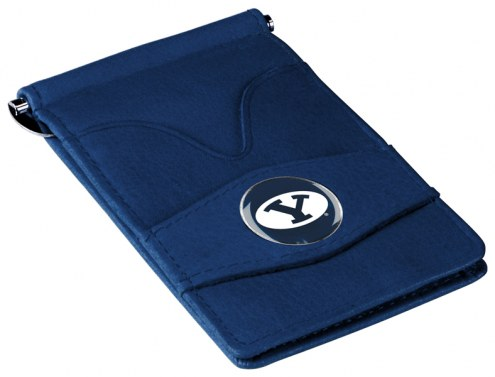 BYU Cougars Navy Player's Wallet