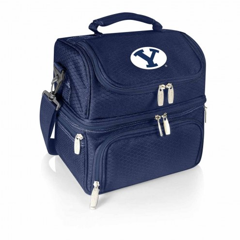BYU Cougars Navy Pranzo Insulated Lunch Box