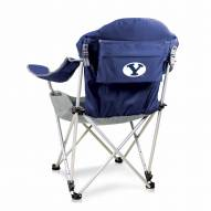 BYU Cougars Navy Reclining Camp Chair