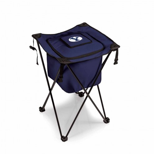 BYU Cougars Navy Sidekick Portable Cooler