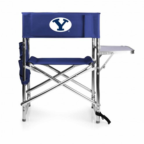 BYU Cougars Navy Sports Folding Chair