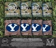 BYU Cougars Operation Hat Trick Cornhole Bag Set