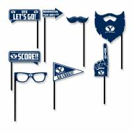 BYU Cougars Party Props Selfie Kit