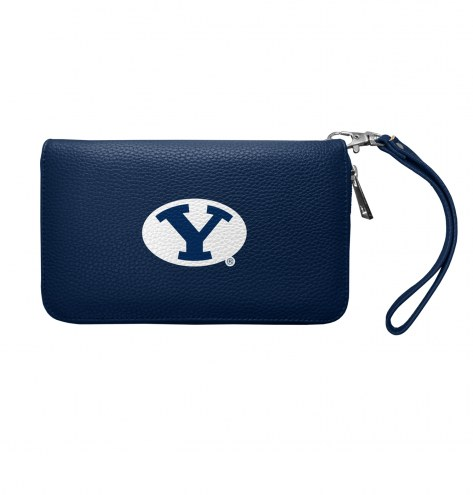 BYU Cougars Pebble Organizer Wallet