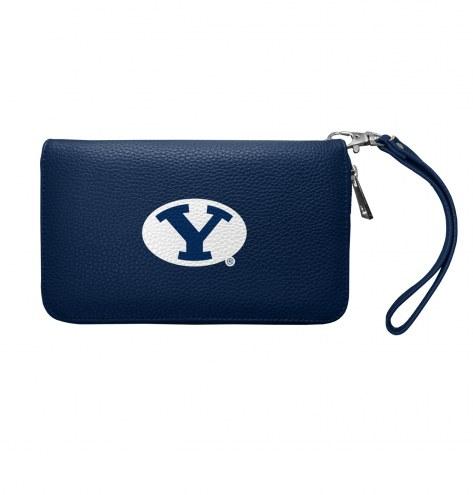 BYU Cougars Pebble Organizer Wallet