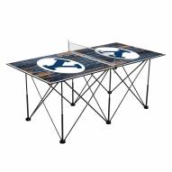 BYU Cougars Pop Up 6' Ping Pong Table