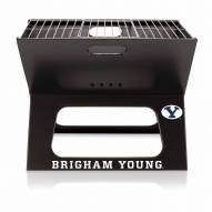 BYU Cougars Portable Charcoal X-Grill