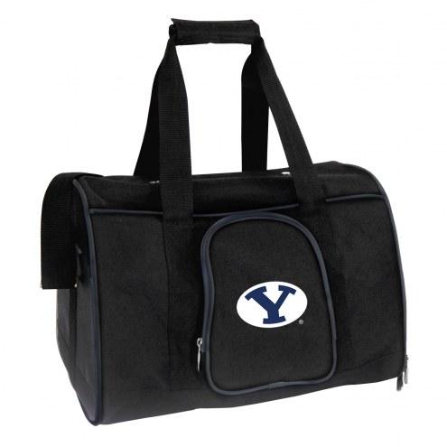 BYU Cougars Premium Pet Carrier Bag