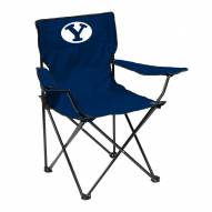 BYU Cougars Quad Folding Chair