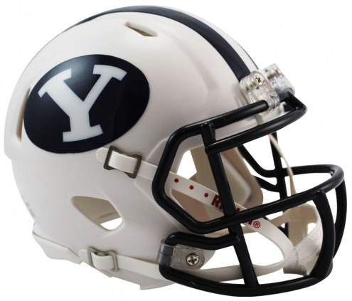 BYU Cougars Riddell Speed Mini Collectible Football Helmet