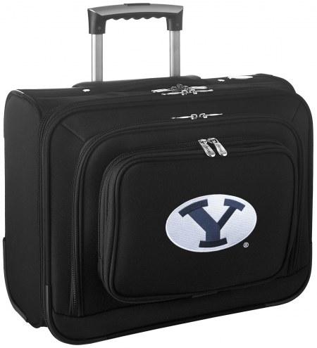 BYU Cougars Rolling Laptop Overnighter Bag